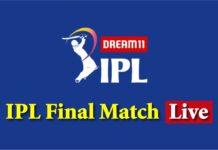 IPL Final Match