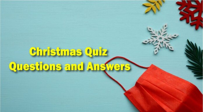 Christmas Quiz questions and Answers