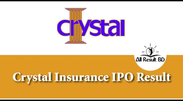 Crystal Insurance IPO Result
