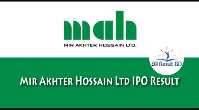Mir Akhter Hossain Ltd IPO Result