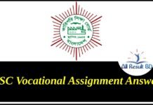 HSC Vocational Assignment