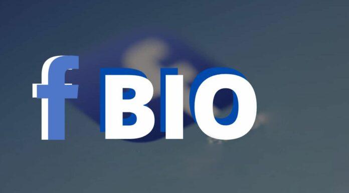 Bio for Facebook
