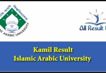 IAU Kamil Result