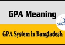 GPA Meaning