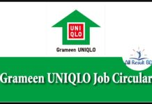 Grameen Uniqlo Job Circular