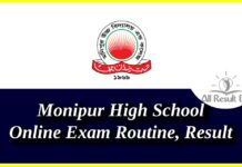 Monipur High School Online Exam