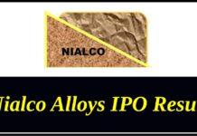Nialco Alloys IPO Result