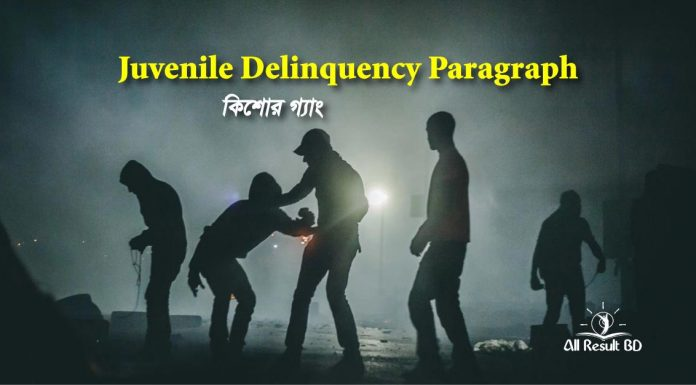 Juvenile Delinquency Paragraph