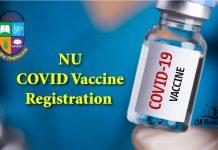NU COVID Vaccine Registration