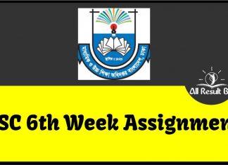 6th Week SSC Assignment