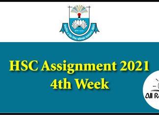 HSC Assignment 2021 4th Week
