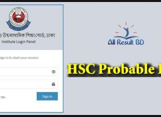 HSC Probable List