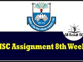 HSC 2022 Assignment Answer 8th Week