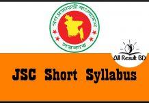 JSC Short Syllabus