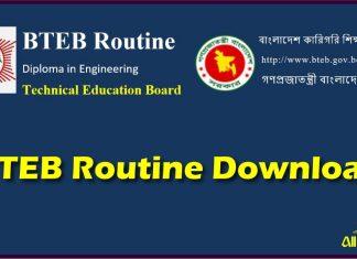 BTEB Routine 2021