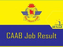 caab result